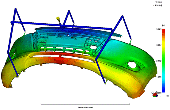 Mold Flow Analysis Software Singapore | BroadTech Engineering