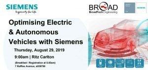 Siemens Electric Autonomous Vechicle